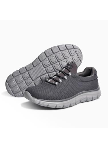 Walkway Flexible Lacivert-Buz Comfort Erkek Yürüyüş Ayakkabısı Füme